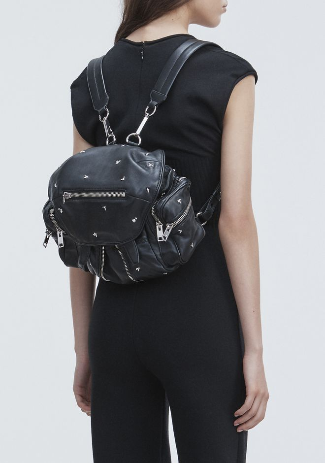 ALEXANDER WANG ROSE STUDDED MINI MARTI BACKPACK SAC À DOS Adult 12_n_r