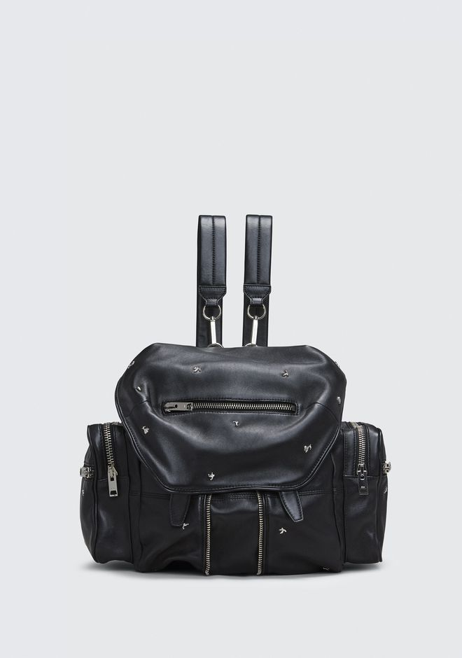 ALEXANDER WANG BACKPACKS ROSE STUDDED MARTI BACKPACK