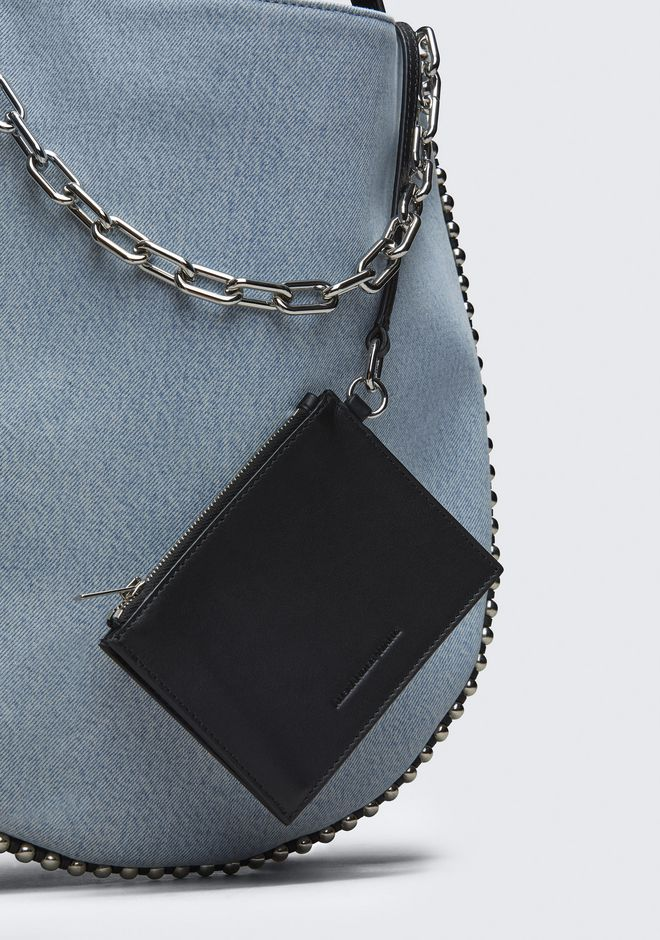 ALEXANDER WANG DENIM ROXY HOBO  ショルダーバッグ Adult 12_n_a