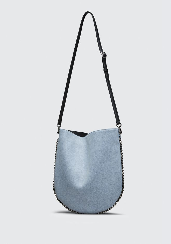 ALEXANDER WANG DENIM ROXY HOBO  Sac porté épaule Adult 12_n_d