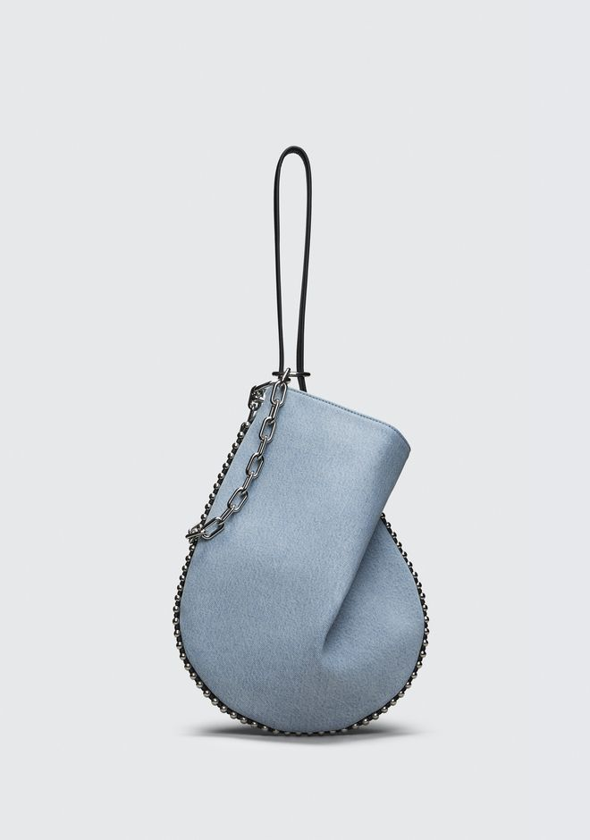 ALEXANDER WANG DENIM ROXY HOBO  Sac porté épaule Adult 12_n_f