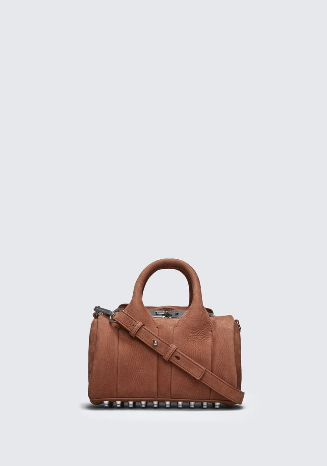 ALEXANDER WANG Shoulder bags Women TERRACOTTA MINI ROCKIE
