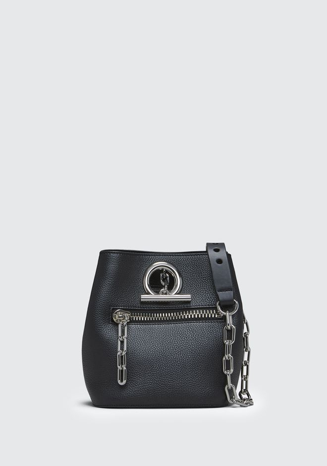 ALEXANDER WANG Shoulder bags Women BLACK RIOT CROSSBODY