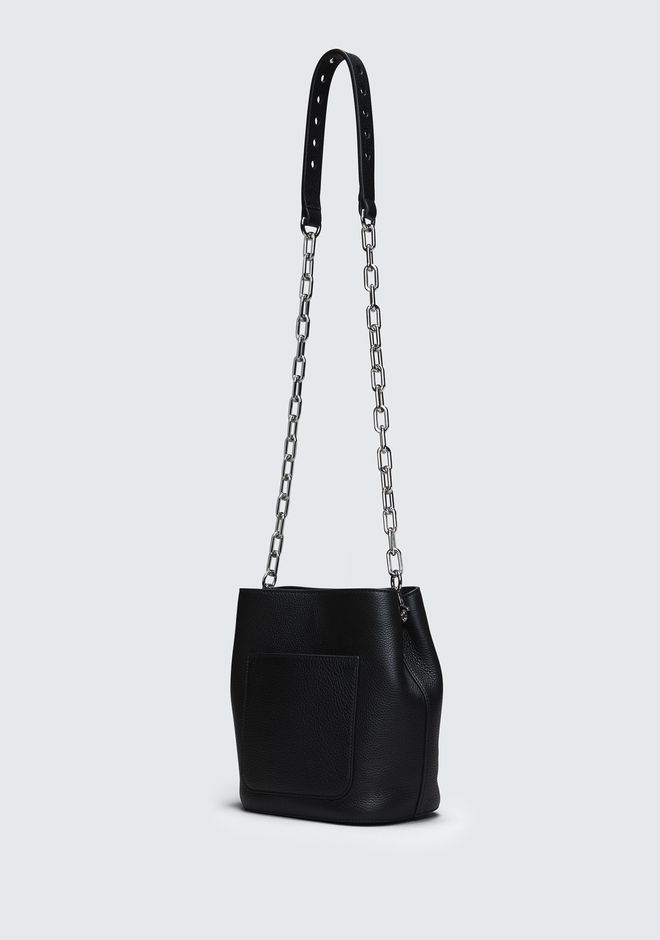 ALEXANDER WANG BLACK RIOT CROSSBODY Shoulder bag Adult 12_n_a