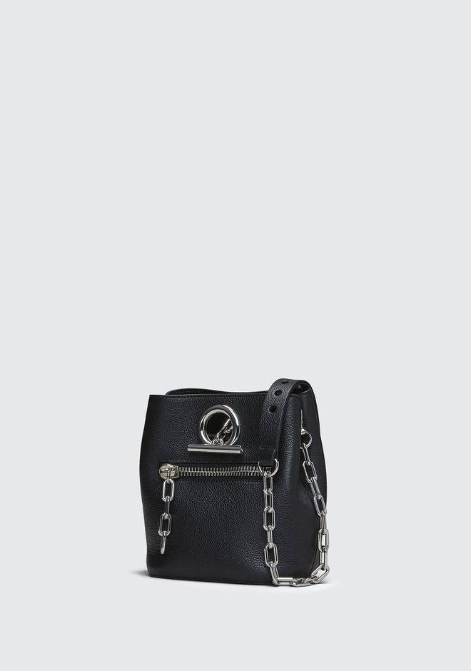 ALEXANDER WANG BLACK RIOT CROSSBODY Shoulder bag Adult 12_n_e