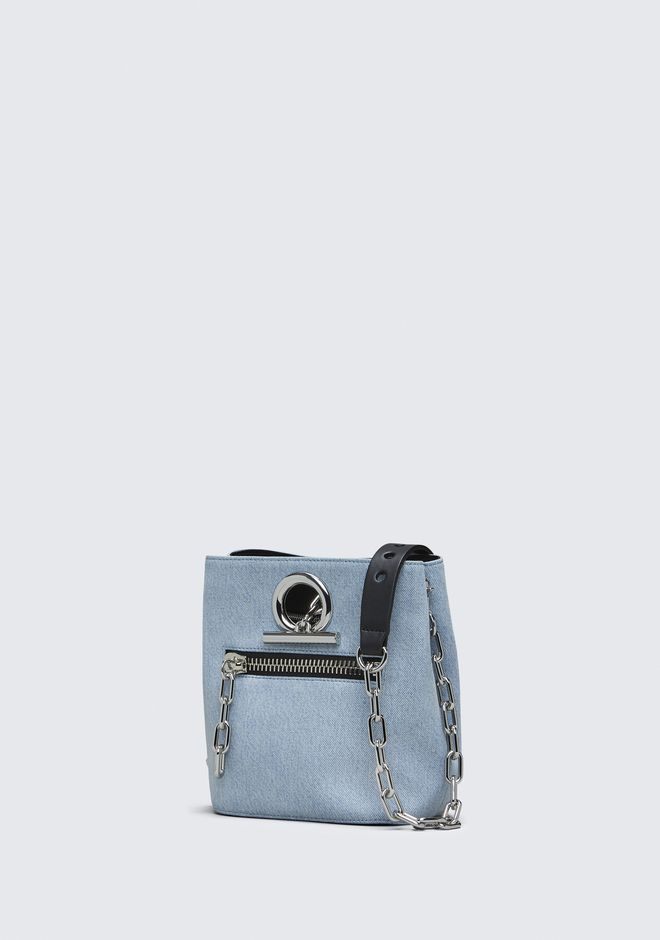 ALEXANDER WANG DENIM RIOT CROSSBODY Shoulder bag Adult 12_n_e