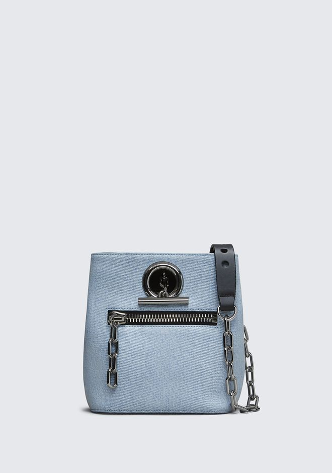 ALEXANDER WANG DENIM RIOT CROSSBODY Shoulder bag Adult 12_n_f