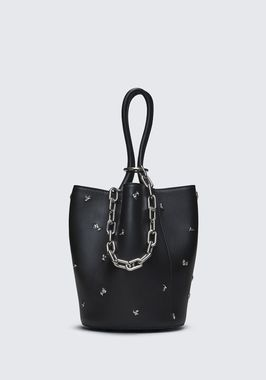 ROSE STUDDED ROXY BUCKET BAG