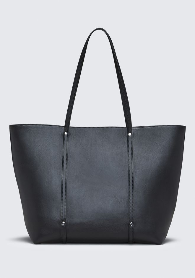 ALEXANDER WANG BLACK ACE TOTE BORSA IN TELA Adult 12_n_d