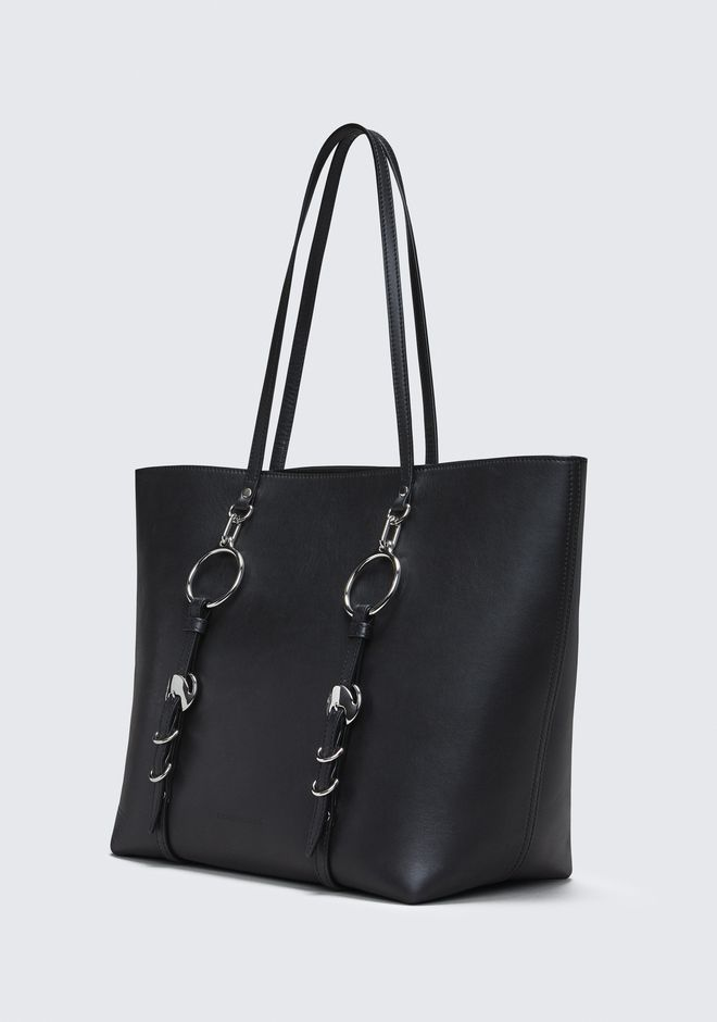 ALEXANDER WANG BLACK ACE TOTE BORSA IN TELA Adult 12_n_e