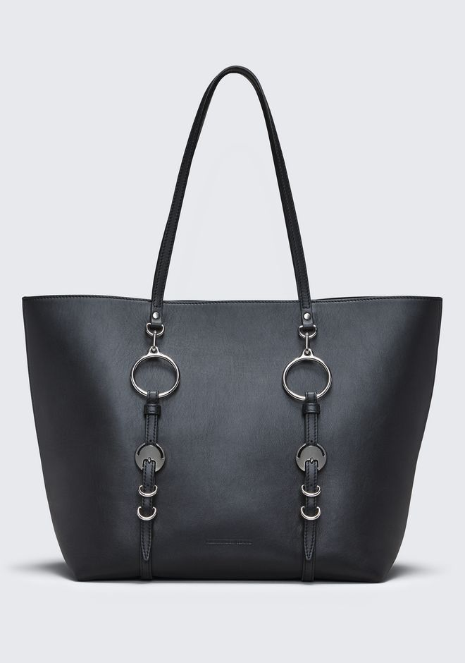 ALEXANDER WANG BLACK ACE TOTE BORSA IN TELA Adult 12_n_f