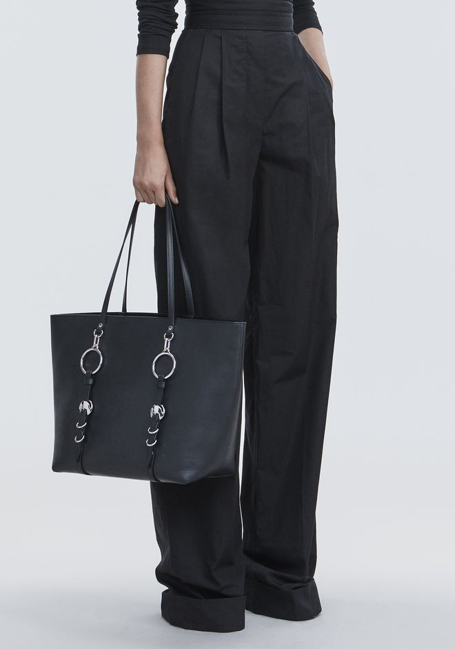 ALEXANDER WANG BLACK ACE TOTE BORSA IN TELA Adult 12_n_r