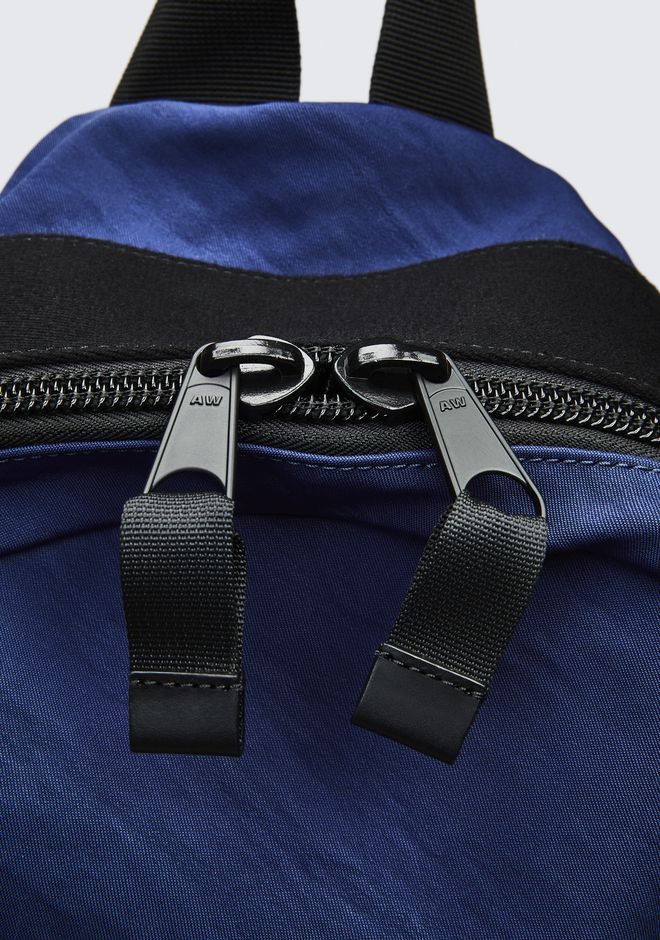 ALEXANDER WANG NAVY NYLON CLIVE BACKPACK  RUCKSACK Adult 12_n_d