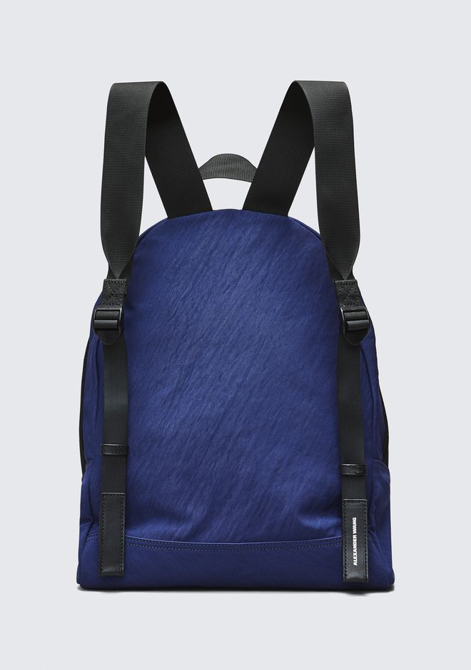 ALEXANDER WANG NAVY NYLON CLIVE BACKPACK  BACKPACK Adult 12_n_e