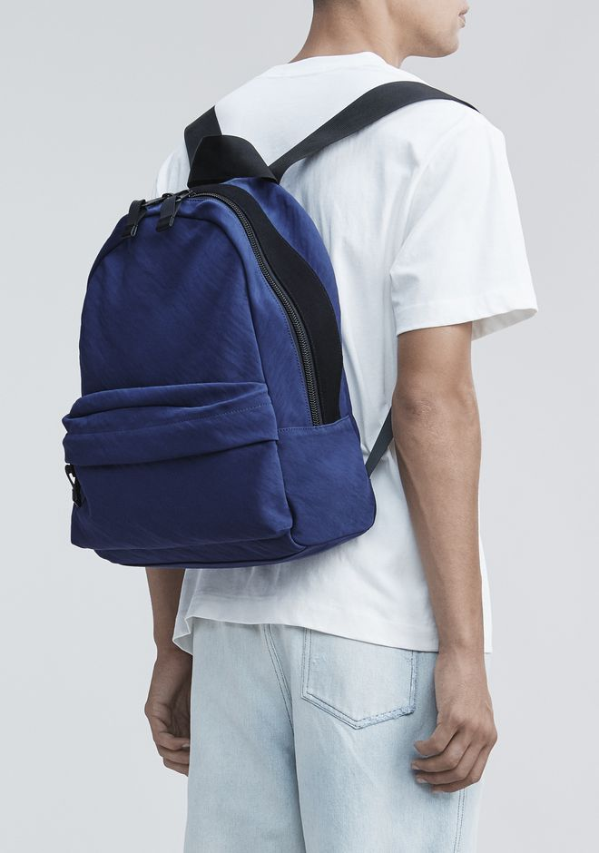 ALEXANDER WANG NAVY NYLON CLIVE BACKPACK  BACKPACK Adult 12_n_r