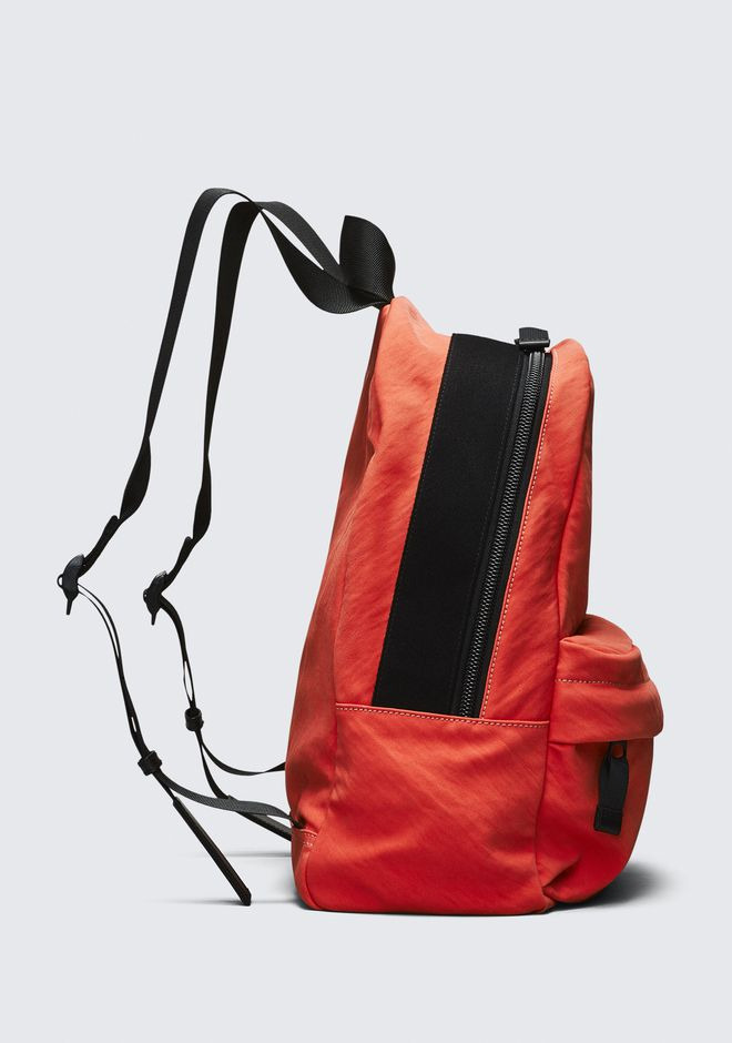 ALEXANDER WANG ORANGE NYLON CLIVE BACKPACK RUCKSACK Adult 12_n_a