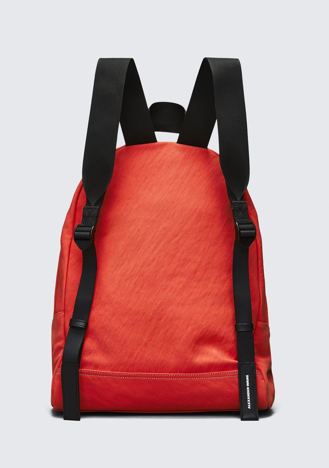 ALEXANDER WANG ORANGE NYLON CLIVE BACKPACK RUCKSACK Adult 12_n_e