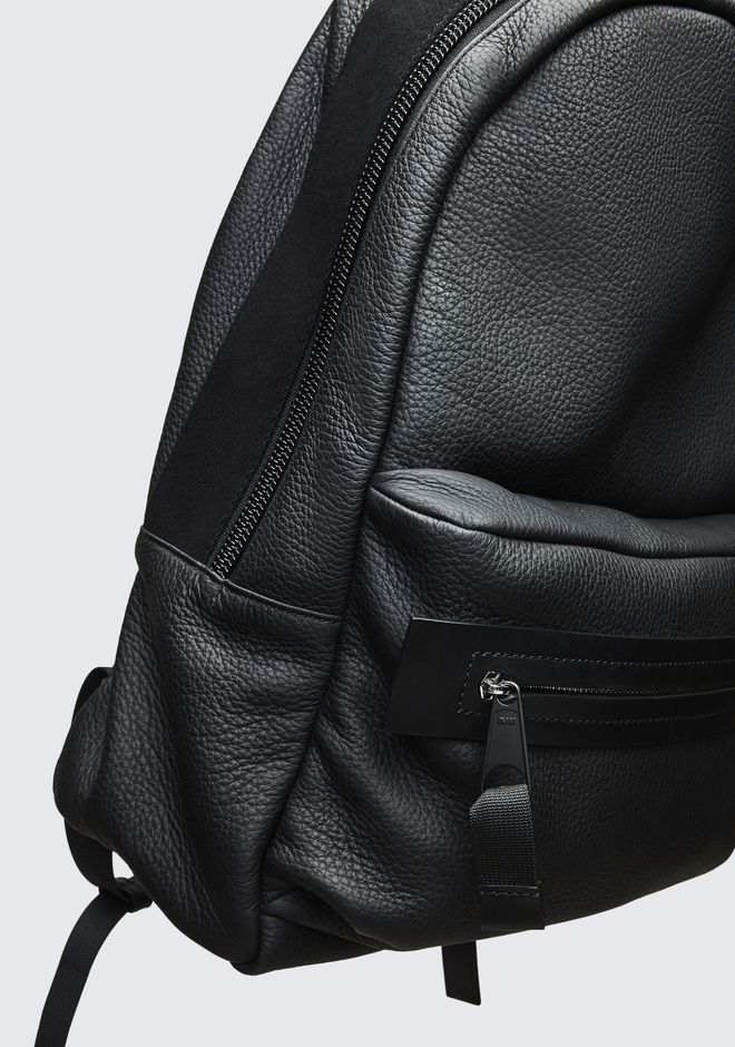ALEXANDER WANG BLACK CLIVE BACKPACK RUCKSACK Adult 12_n_d