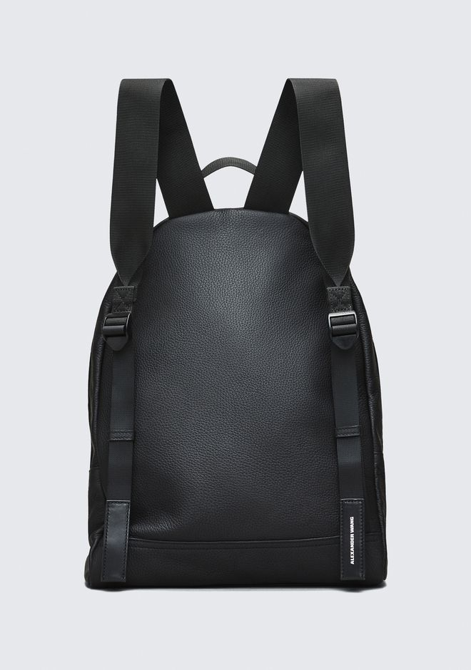 ALEXANDER WANG BLACK CLIVE BACKPACK RUCKSACK Adult 12_n_e