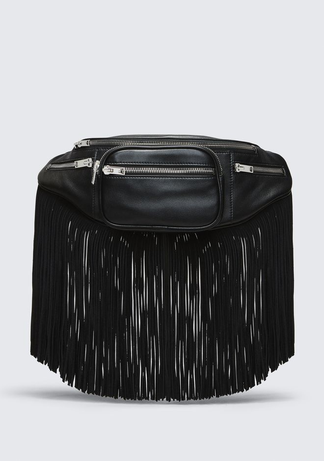 ALEXANDER WANG fannypack FRINGE ATTICA FANNY PACK
