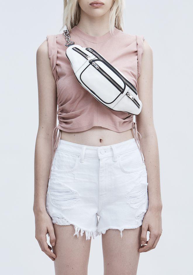 ALEXANDER WANG WHITE ATTICA FANNY PACK Shoulder bag Adult 12_n_r