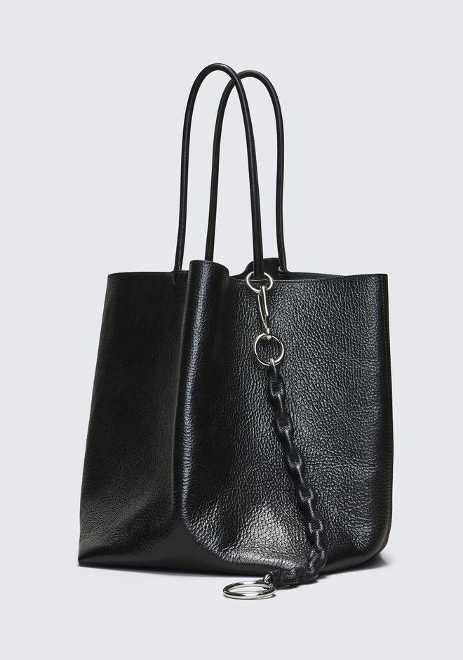 ALEXANDER WANG LARGE ROXY BUCKET TOTE BORSA IN TELA Adult 12_n_e
