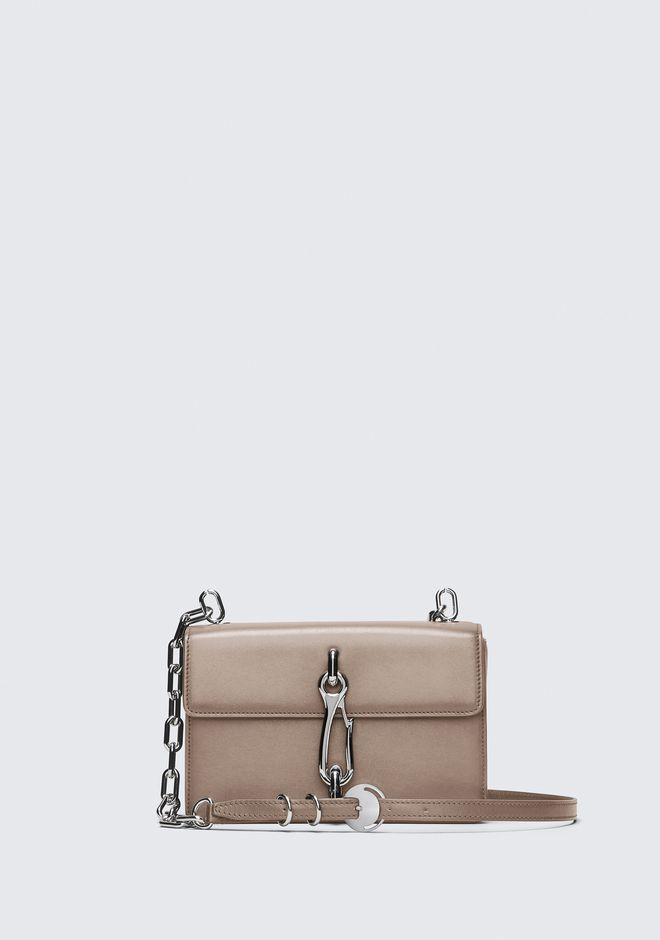 ALEXANDER WANG MESSENGER BAGS NUDE MEDIUM HOOK CROSS BODY