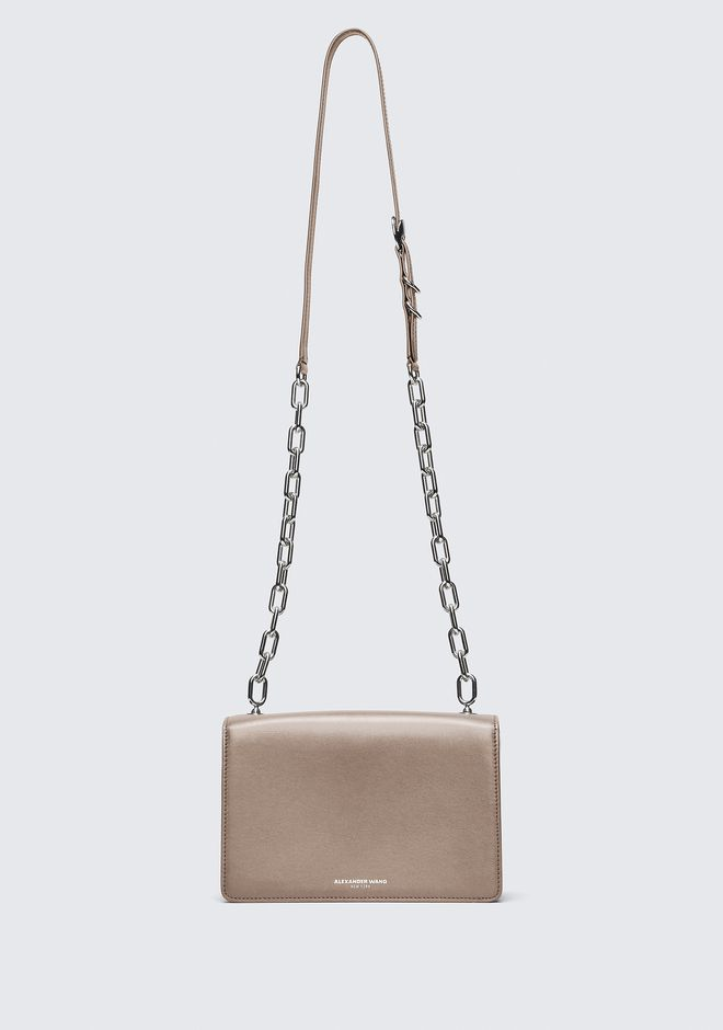 ALEXANDER WANG NUDE MEDIUM HOOK CROSS BODY 메신저 백 Adult 12_n_a