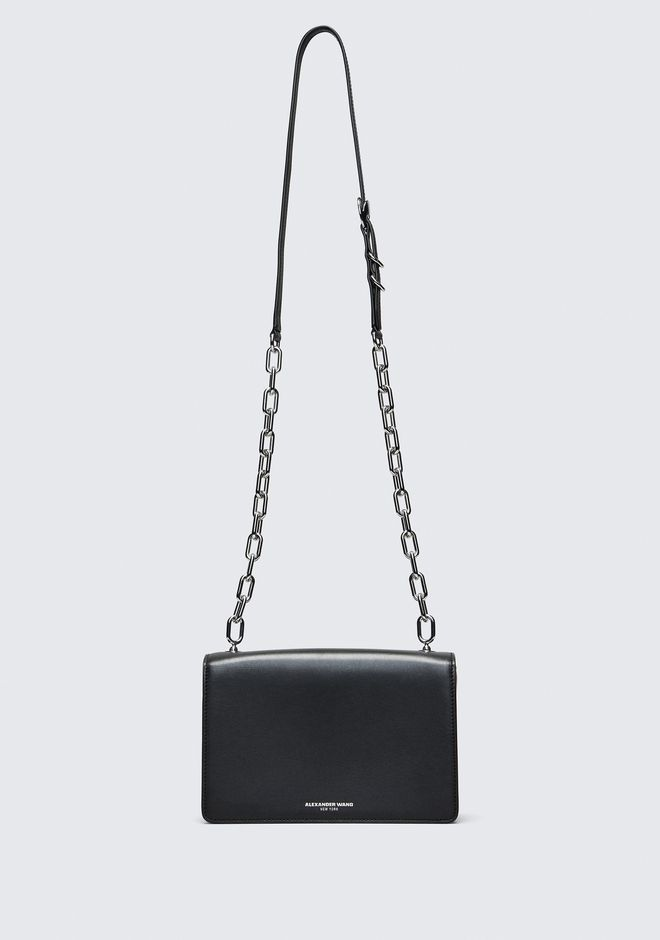ALEXANDER WANG BLACK MEDIUM HOOK CROSS BODY 邮差包 Adult 12_n_a
