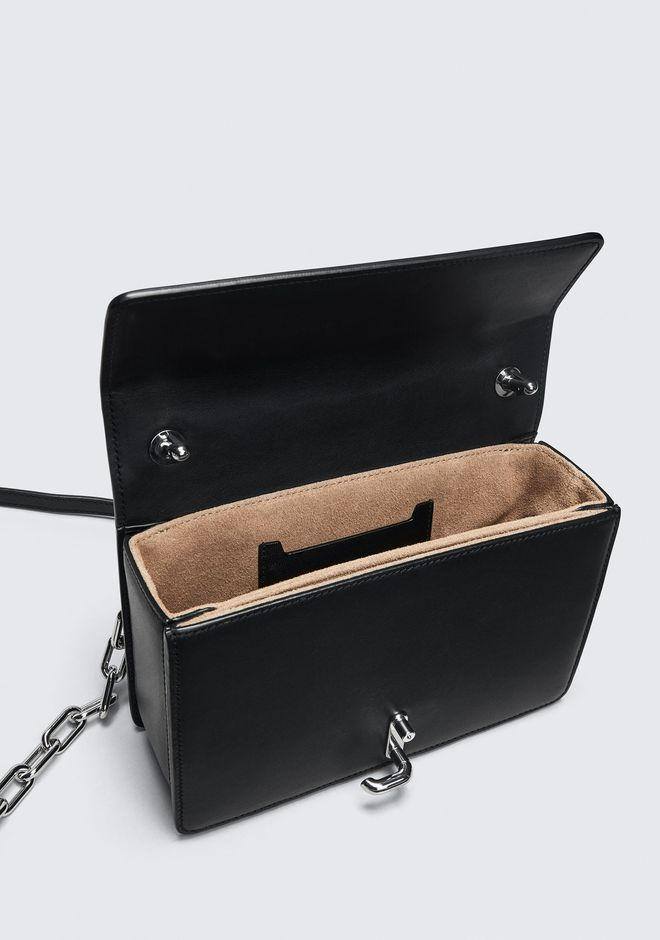 ALEXANDER WANG BLACK MEDIUM HOOK CROSS BODY 메신저 백 Adult 12_n_d