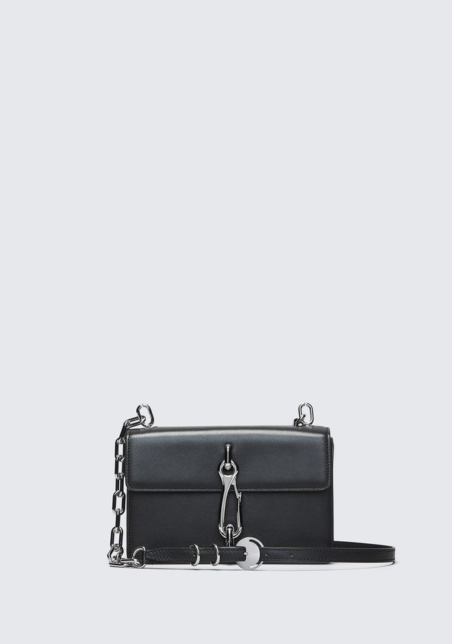 ALEXANDER WANG BLACK MEDIUM HOOK CROSS BODY 邮差包 Adult 12_n_f