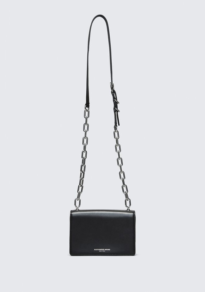 ALEXANDER WANG BLACK SMALL HOOK CROSS BODY Borse a spalla Adult 12_n_a