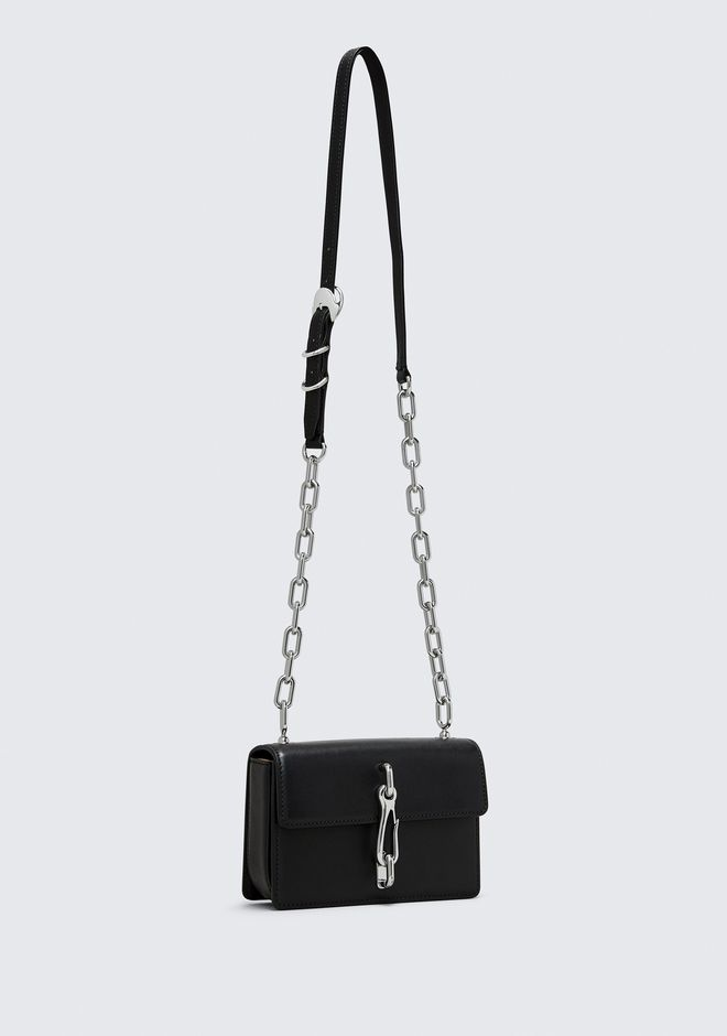 ALEXANDER WANG BLACK SMALL HOOK CROSS BODY Borse a spalla Adult 12_n_e