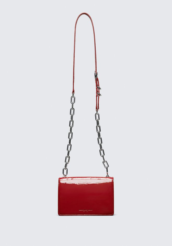 ALEXANDER WANG PATENT SMALL HOOK CROSS BODY Sac porté épaule Adult 12_n_a