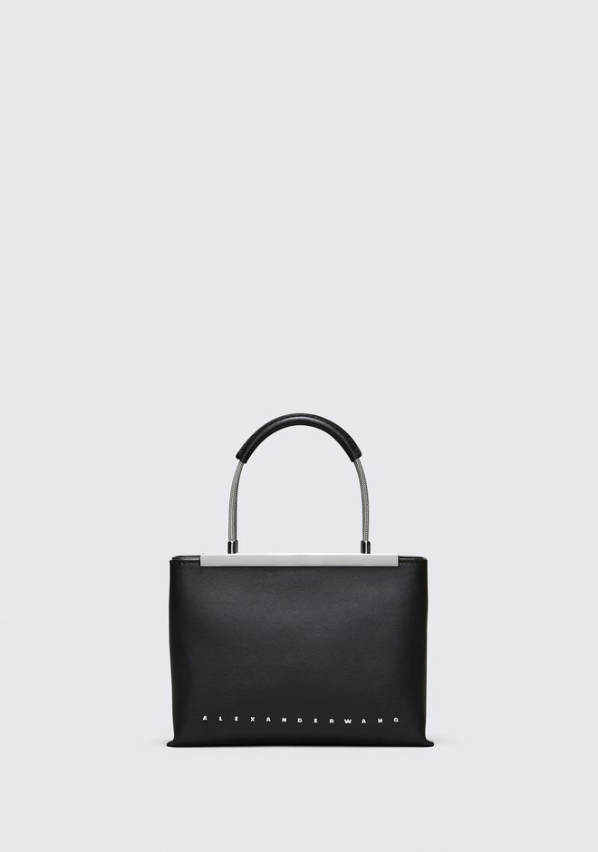 ALEXANDER WANG TOP HANDLE BAGS BLACK DIME SMALL SATCHEL