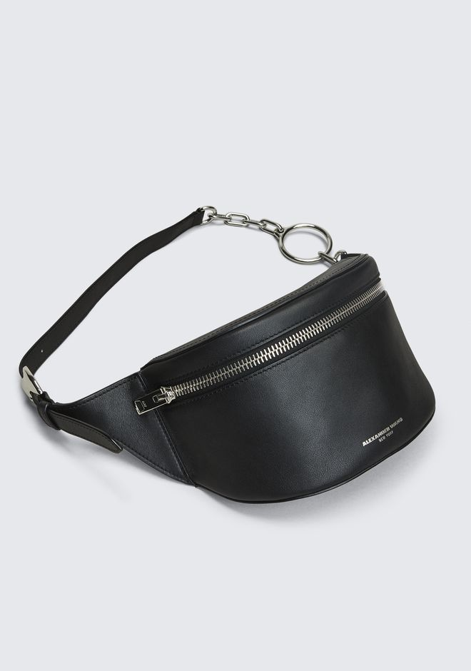 ALEXANDER WANG BLACK ACE FANNY PACK Shoulder bag Adult 12_n_e