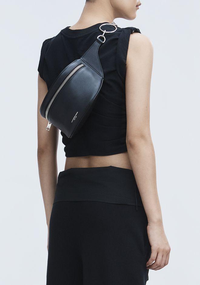 ALEXANDER WANG BLACK ACE FANNY PACK Shoulder bag Adult 12_n_r