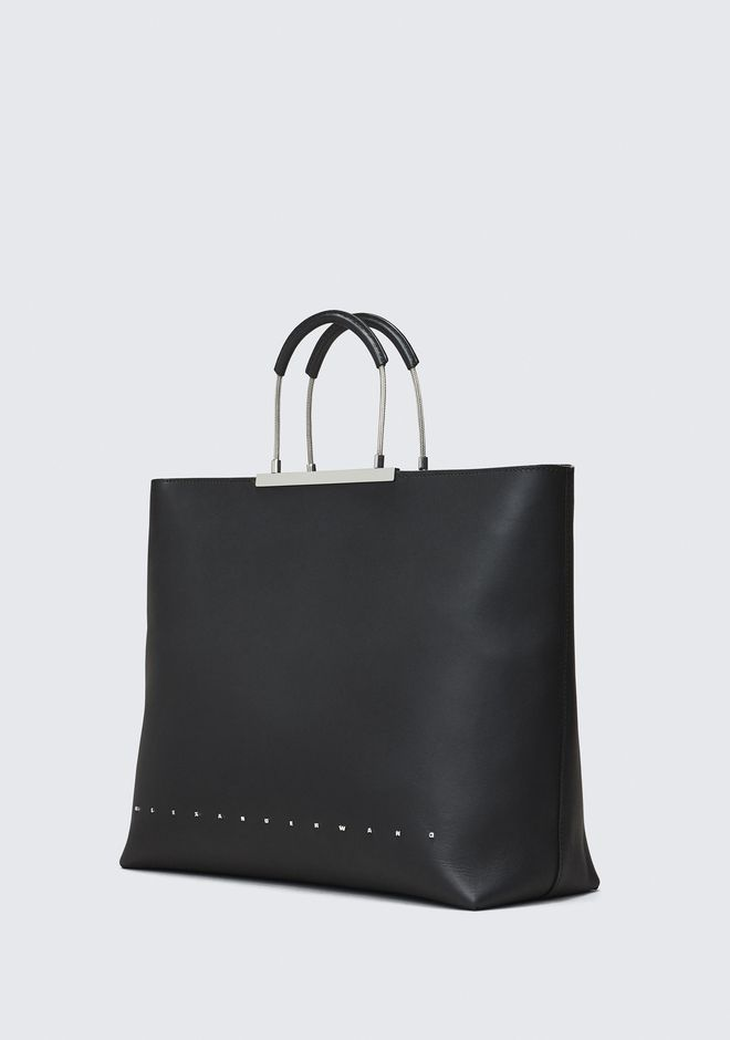 ALEXANDER WANG BLACK DIME TOTE TOP HANDLE BAG Adult 12_n_a