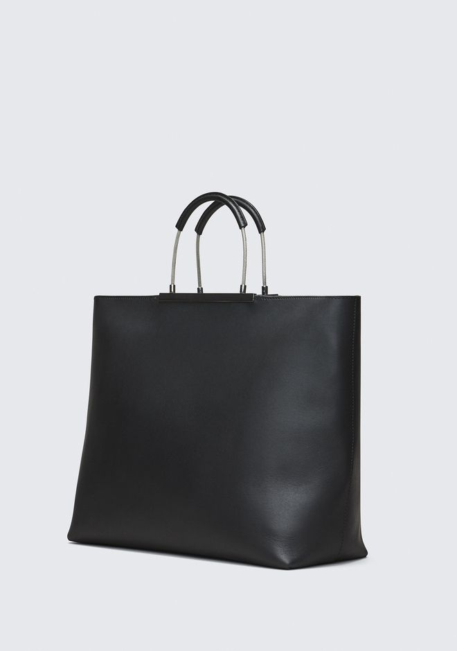 ALEXANDER WANG BLACK DIME TOTE TOP HANDLE BAG Adult 12_n_d