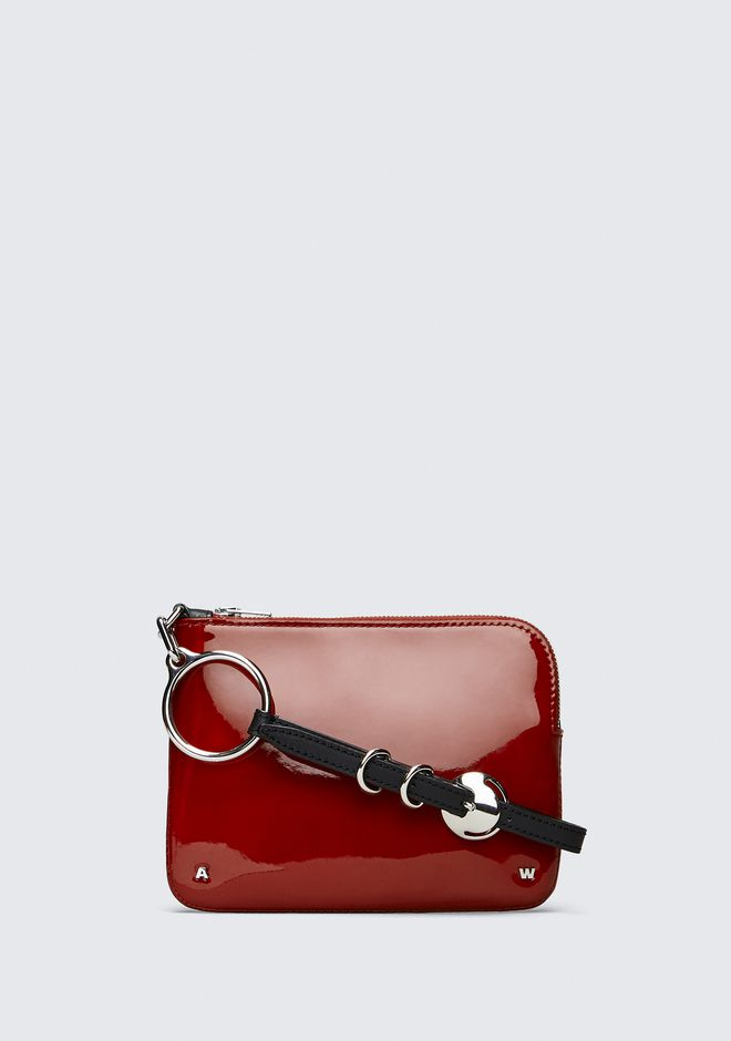 ALEXANDER WANG CLUTCHES Women PATENT ACE SMALL WRISTLET