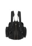 ALEXANDER WANG MARTI BACKPACK IN WASHED BLACK WITH RHODIUM BACKPACK Adult 8_n_e