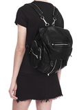 ALEXANDER WANG MARTI BACKPACK IN WASHED BLACK WITH RHODIUM BACKPACK Adult 8_n_r
