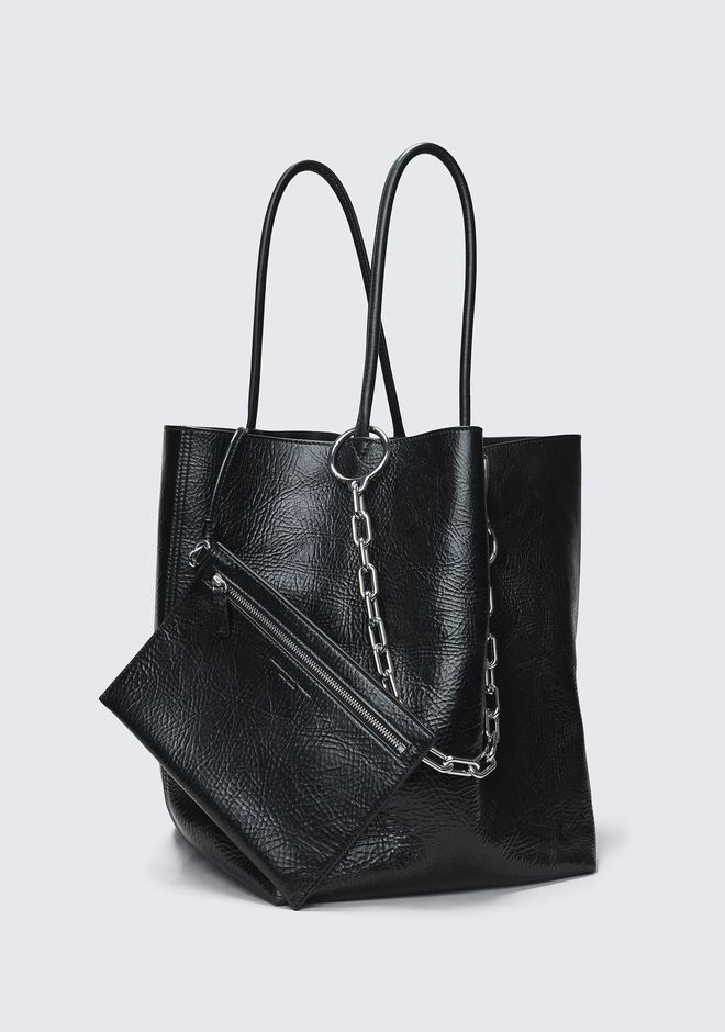 ALEXANDER WANG ROXY LARGE BUCKET TOTE TOTE BAG Adult 12_n_e