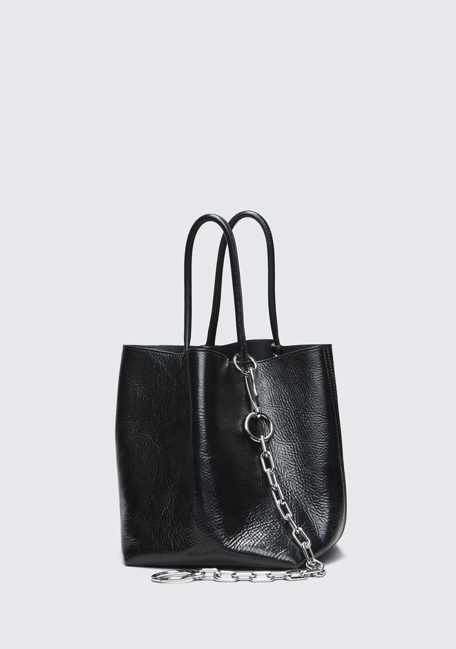 ALEXANDER WANG ROXY SMALL BUCKET TOTE TOP HANDLE BAG Adult 12_n_d