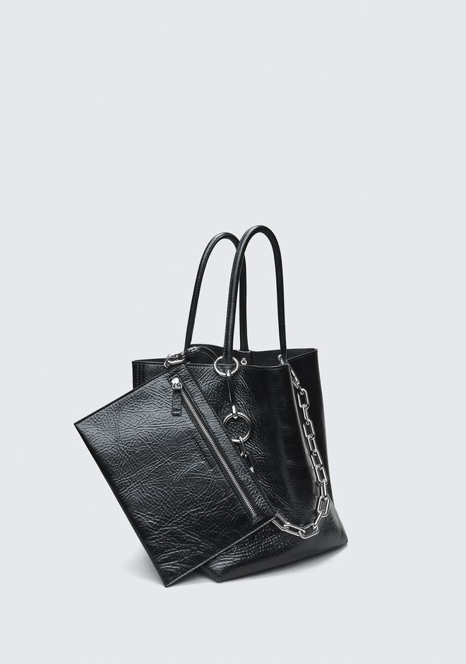 ALEXANDER WANG ROXY SMALL BUCKET TOTE TOP HANDLE BAG Adult 12_n_e