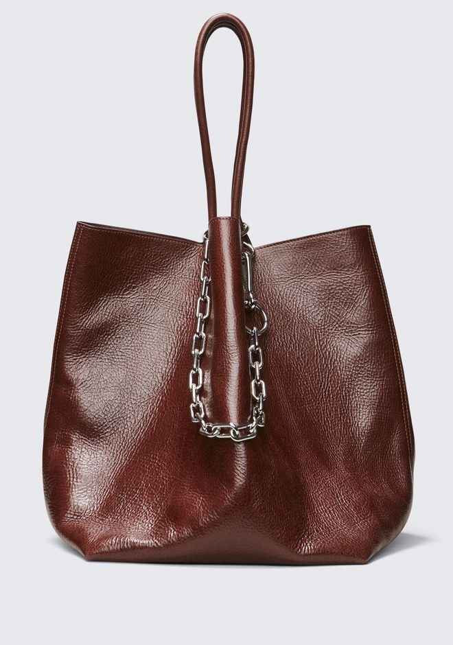 ALEXANDER WANG roxy CRANBERRY ROXY LARGE BUCKET TOTE
