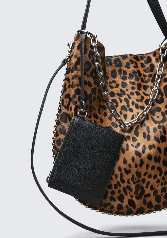 ALEXANDER WANG LEOPARD ROXY HOBO Shoulder bag Adult 12_n_a