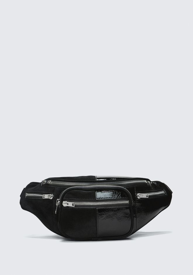 Suede And Patent Attica Fanny Pack by Alexander Wang