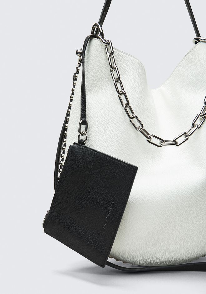ALEXANDER WANG BIANCO ROXY HOBO  CLUTCH Adult 12_n_a
