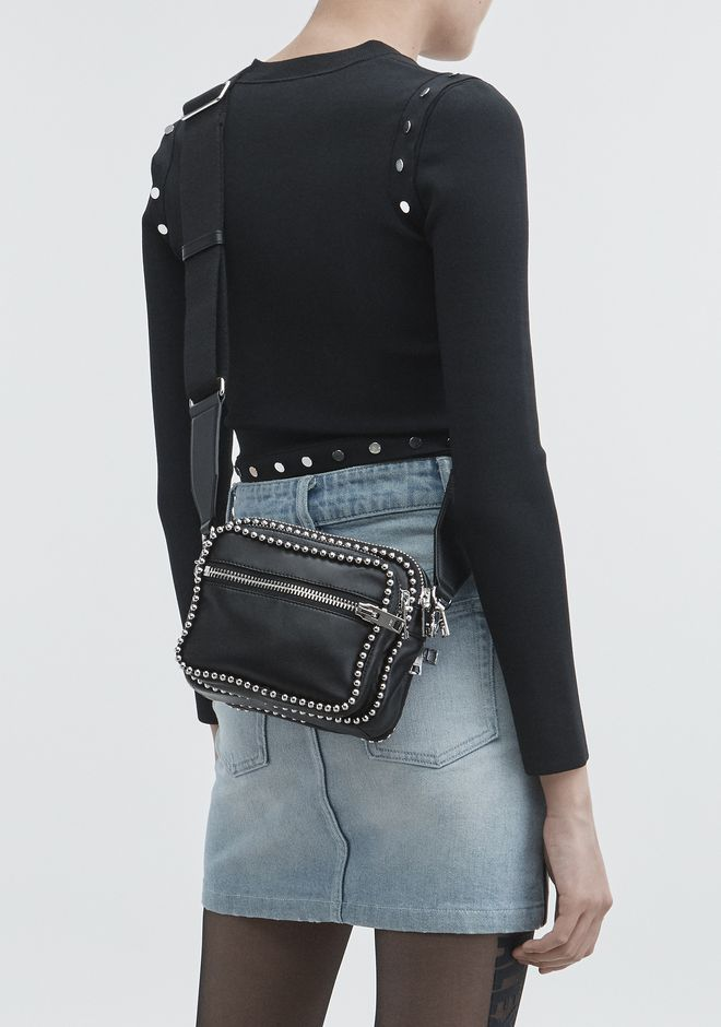 ALEXANDER WANG ATTICA LARGE CROSSBODY ショルダーバッグ Adult 12_n_r